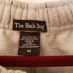 Black Dog Pants - Black Dog Men's (M) Heavy Sweatpants N.W.O.T.